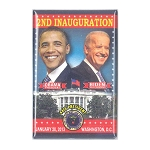 2nd Inauguration - Obama Biden - Rectangle Button