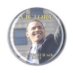 2nd Inauguration - Obama Wave - Round Button