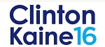 Clinton Kaine 16- Bumper Sticker  - 3 3/4