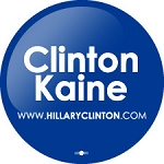 CLinton Kaine- Button - 2 1/4