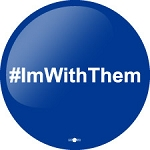 #imwiththem- Button - 2 1/4