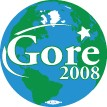 Gore 2008 Earth Design Button