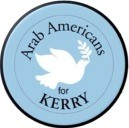 Arab Americans for Kerry 1 in Button