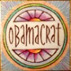 """Obamacrat"" Handmade Collector's Pin"