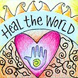 """Heal The World"" Handmade Collector's Pin"