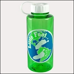Custom 36 oz Poly-Pure Mountain Bottle
