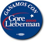 Ganamos Con Gore-Lieberman Button