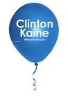 "Clinton Kaine | 11"" Balloons  in Bags of 100"