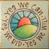 """Yes We Can"" Handmade Collector's Pin 2"