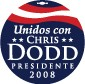 Unidos con Dodd 2008 Button