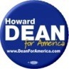Howard Dean for America Buttons