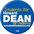 Students for Howard Dean Button