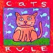 """Cat's Rule"" Handmade Collector's Pin"