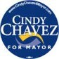 Cindy Chavez for Mayor Button
