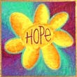 """Hope Flowers"" Handmade Collector's Pin"