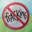 """No Fracking"" Handmade Collector's Pin"