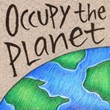 """Occupy the Planet"" Handmade Collector's Pin"