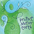"""Protect Mother Earth"" Handmade Collector's Pin"