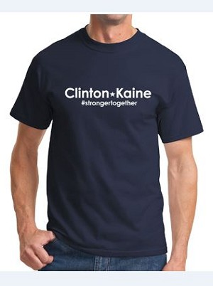Clinton Kaine | Unisex Sizing | Made in the USA | Union Decorated