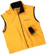 Custom Embroidered Sierratex Zipper Front Vest